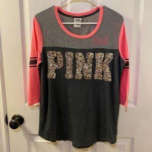PINK Victoria's Secret sequin shirt
